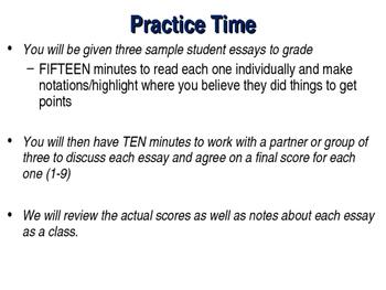 AP World History Exam CCOT Essay Review