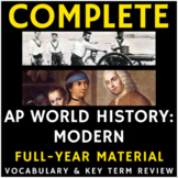 PowerPoint AP World History - Full Year Period 1-6 Vocabulary Presentations