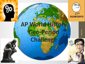 AP World History Geography and Periodization Challenge Game