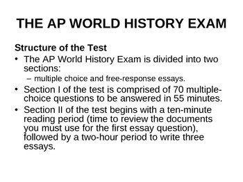 AP World History Guess and Go Multiple Choice Strategy