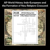 AP World History Indo-Europeans & the Formation of New Rel