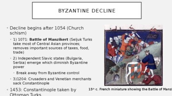 AP World History - Lecture 10 w/ LECTURE NOTES (Byzantium & Eastern Europe)