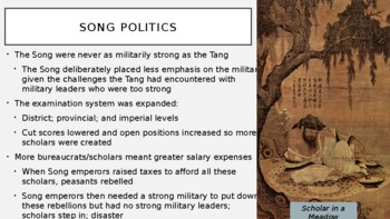 AP World History - Lecture 13 - Sui, Tang, and Song China