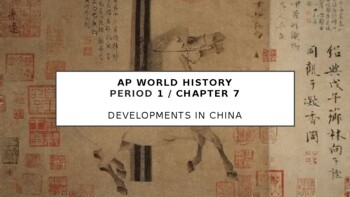 AP World - Lecture 13 - Sui, Tang, and Song China