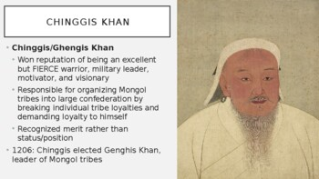 AP World History - Lecture 15 w/ LECTURE NOTES (Mongols)