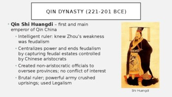 AP World - Lecture 2 w/ LECTURE NOTES (Classical China)