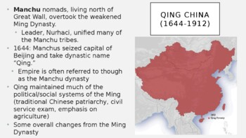 AP World History - Lecture 27 w/ LECTURE NOTES (Ottomans, Egypt, Qing China)