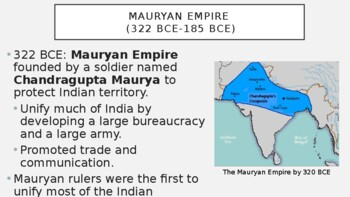 AP World History - Lecture 3 w/ LECTURE NOTES (Classical India)