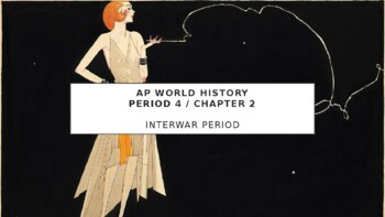 AP World History - Lecture 30 w/ LECTURE NOTES (Interwar Period)