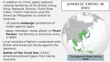 AP World - Lecture 31 - WWII