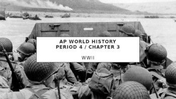 AP World History - Lecture 31 w/ LECTURE NOTES (WWII)