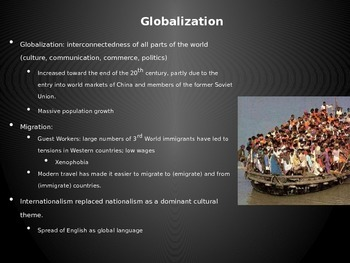 AP World - Lecture 37 - Globalization and Resistance