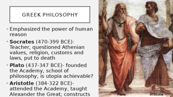AP World History - Lecture 5 w/ LECTURE NOTES (Classical Greece & Rome)