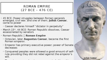 AP World - Lecture 5 w/ LECTURE NOTES (Classical Greece & Rome)
