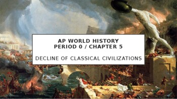 AP World History - Lecture 6 w/ LECTURE NOTES (Decline of Classical Civs)