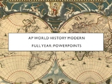 AP World History - Lectures 1 through 37 (Full Year)