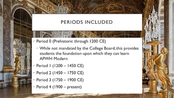 AP World History - Lectures 1 through 37 w/ LECTURE NOTES (Full Year)