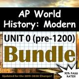 AP World History: Modern - Complete Unit 0 (pre-1200 CE) -