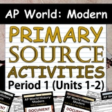 AP World History: Modern - Document Analysis Activities - All 4 Periods!
