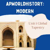 AP World History Modern - Unit 1 Resources