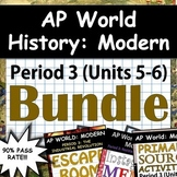 AP World History: Modern - Complete Unit 5 & 6 (Period 4) Pack, Google Drive!