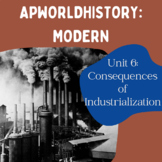 AP World History Modern - Unit 6 Resources