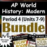 AP World History: Modern - Complete Unit 7, Unit 8, & Unit 9 (Period 4) Pack!