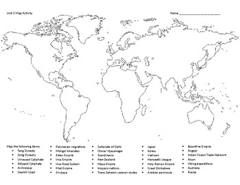 Ap world history period 3 map by mrsadkins teachers pay teachers ap world history period 3 map gumiabroncs Images
