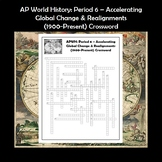 AP World History Period 6 Crossword Review APWH