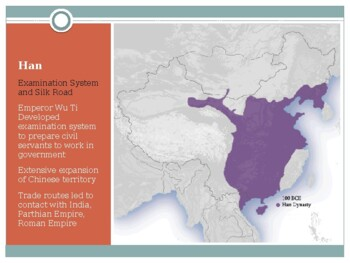 AP World History - Review of Chinese Dynasties