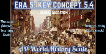 AP World History Scale Key Concept 5 4