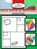 AP World History: Silk Road & Mongols - Comic Book Project