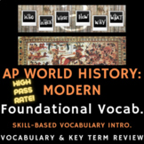 PowerPoint AP World History - Skill-Based Vocabulary Review Presentation