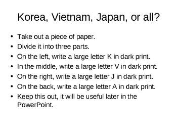 AP World History - World Civilizations Chapter 13 - Japan, Korea, Vietnam