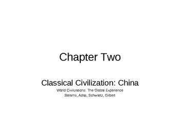 AP World History - World Civilizations Chapter 2 - Ancient China