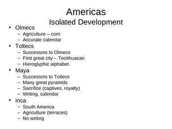 AP World History - World Civilizations Chapter 5