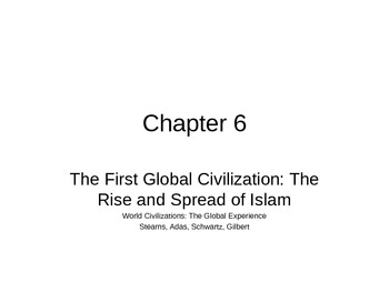 AP World History - World Civilizations Chapter 6 - Rise of Islam