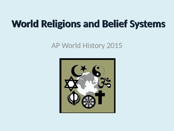 AP World History World Religions and Belief Systems Notes