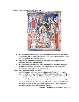 AP World Period 3 (600 - 1450 CE) SAQs