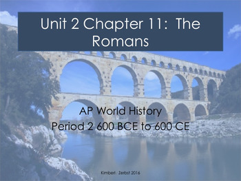 AP World Rome Lesson