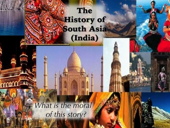 AP World Visual Timeline of South Asia