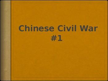 AP - IB Chinese Civil War Powerpoint #1
