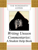 AP and IB Rhetorical Analysis: Writing Unseen Commentaries (Teaching Copy)