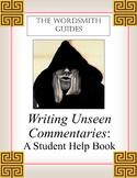 AP and IB Rhetorical Analysis: Writing Unseen Commentaries