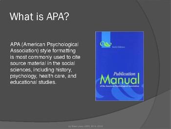 APA 6th Edition - Setting Up a Basic Document