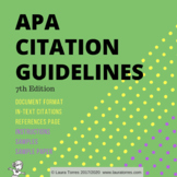 APA Citation 7th Edition Guidelines