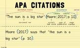 APA Citation Poster