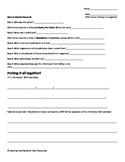 APA Citation Worksheet Putting it all together!