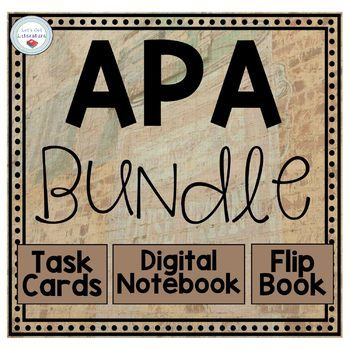 APA Format Bundle