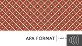 APA Format PowerPoint (with Video Lecture!)